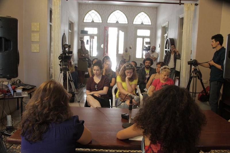 The caravan lebanon press conference 06