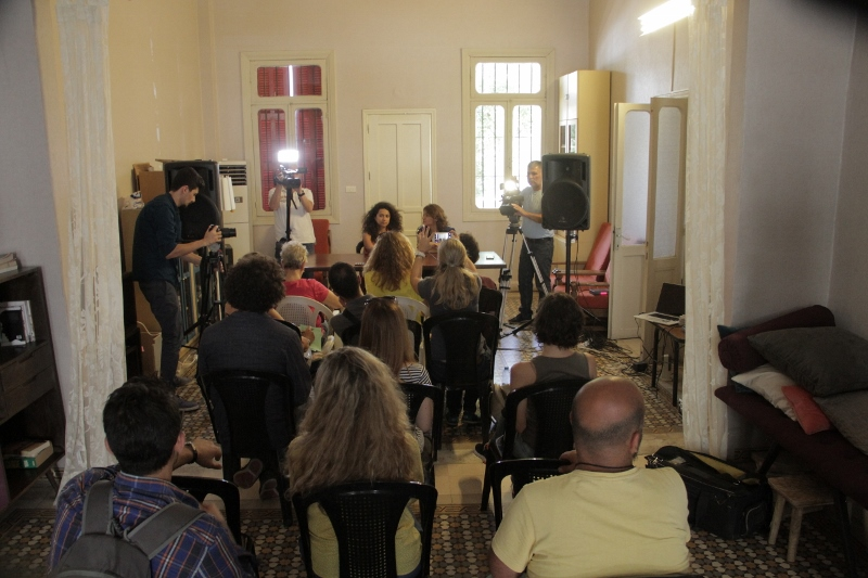 The caravan lebanon press conference 10