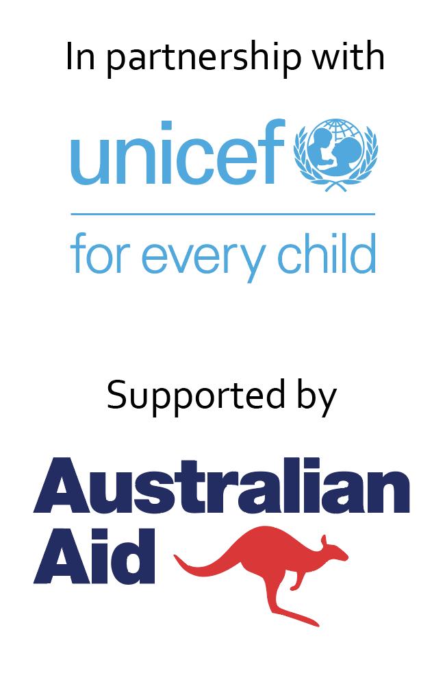 Unicef australian aid